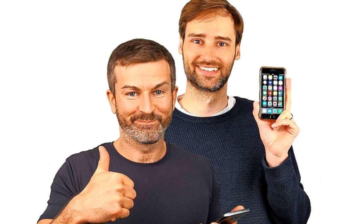 Die mehrfach ausgezeichneten Handyexpe...autermann (links) und Kristoffer Braun  | Foto: Levato