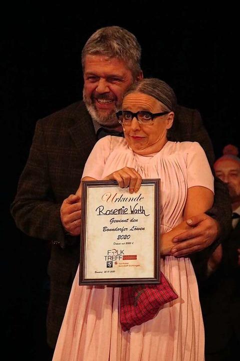 Rosemie Warth erhielt 2020 den Kleinku.... Auch sie wird 2021 wieder auftreten.  | Foto: Martha Weishaar