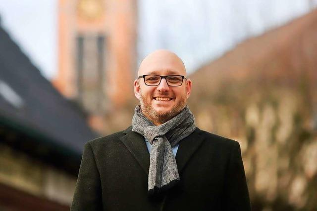 Raphael Jung will Bürgermeister in Neuried werden