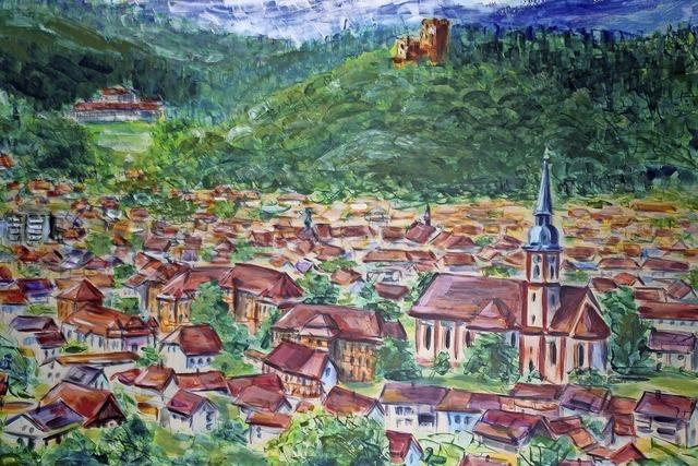Waldkirch, von oben und heiter betrachtet