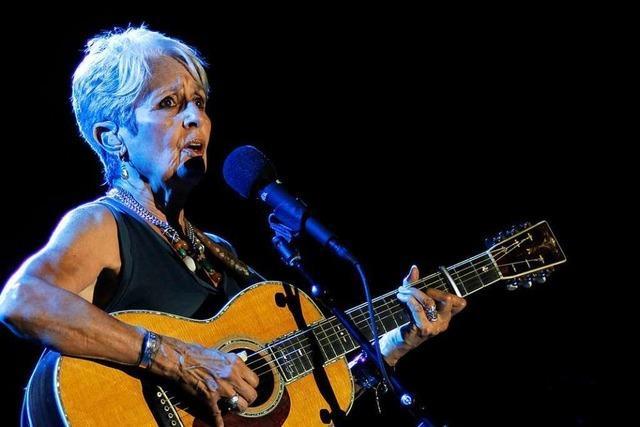 Joan Baez wird 80: Dieses Vibrato kann töten