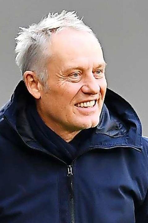 SC-Trainer Christian Streich  | Foto: SC Freiburg/Achim Keller