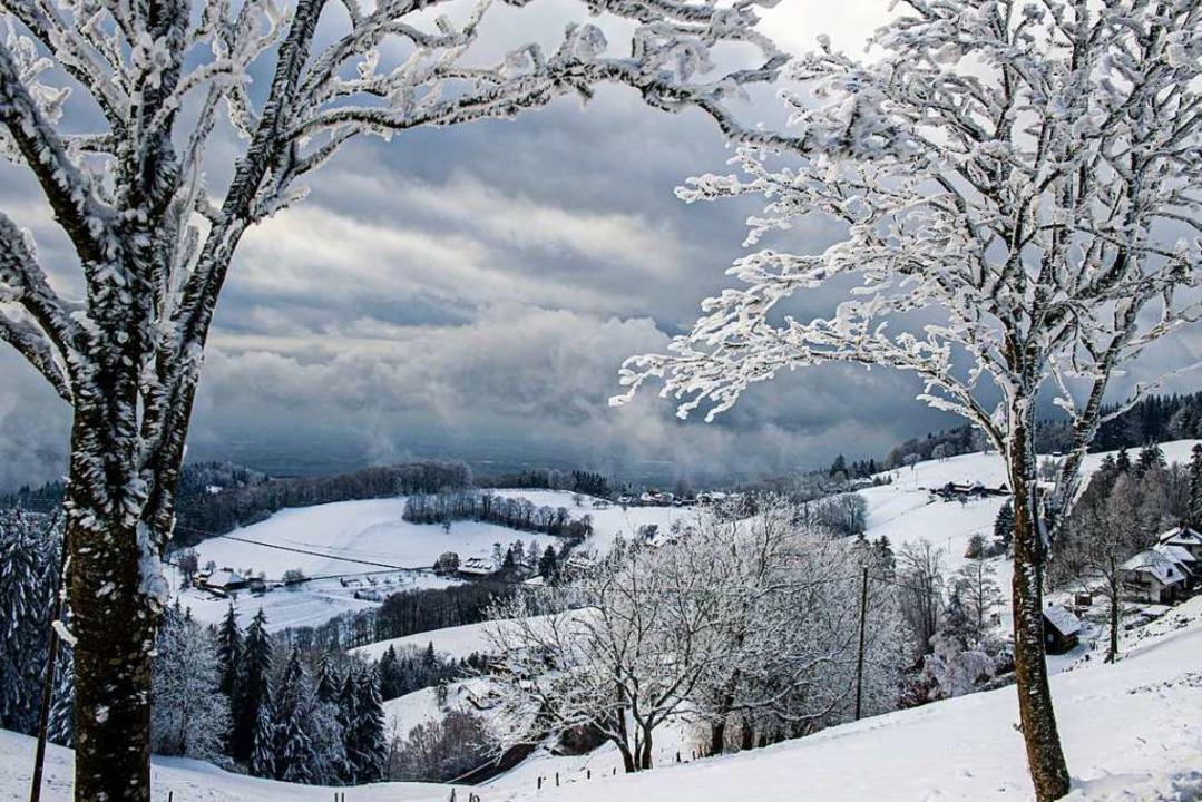Winterwonnen im Schwarzwald – hier beim Geiersnest, St. Ulrich.   | Foto: Andrea Schiffner