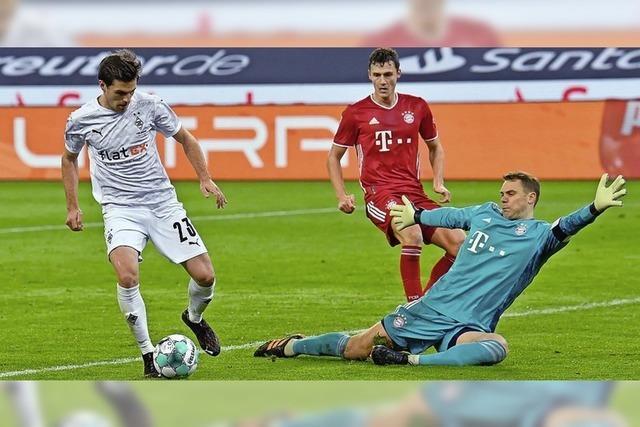 Drei Gegentore sind selbst für die Bayern zu viel