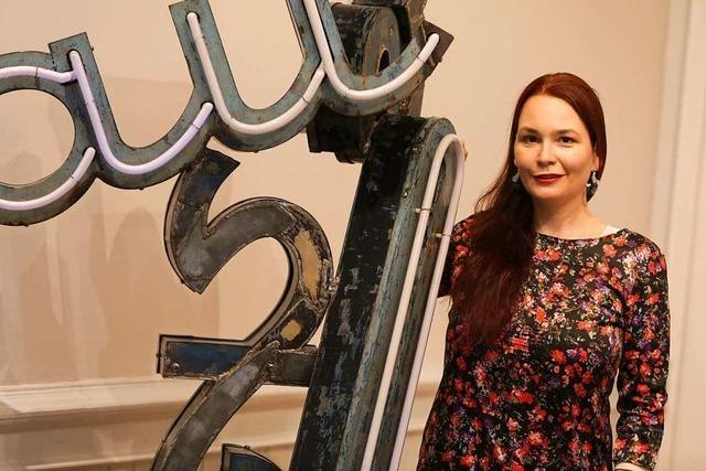 Cornelia Lanz will durch Kunst zum Nachdenken anregen