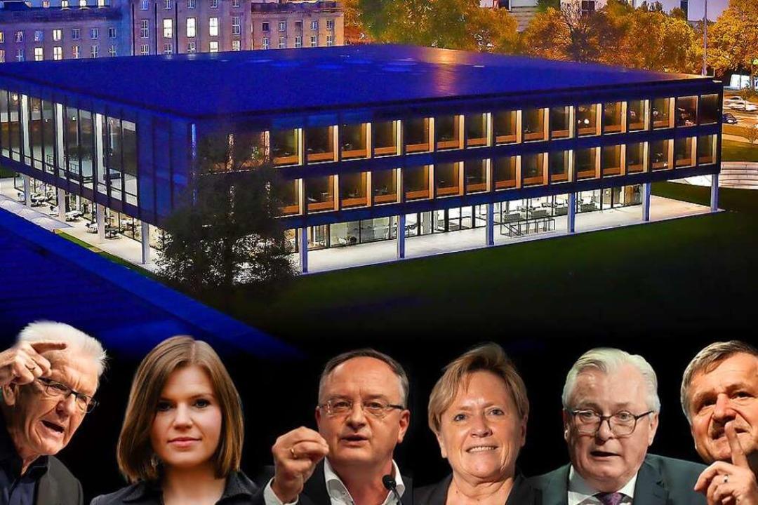 Alle  Spitzenkandidaten werden BZ-Chef...burg der LpB, Rede und Antwort stehen.    Foto: Max Kovalenko via www.imago-imag