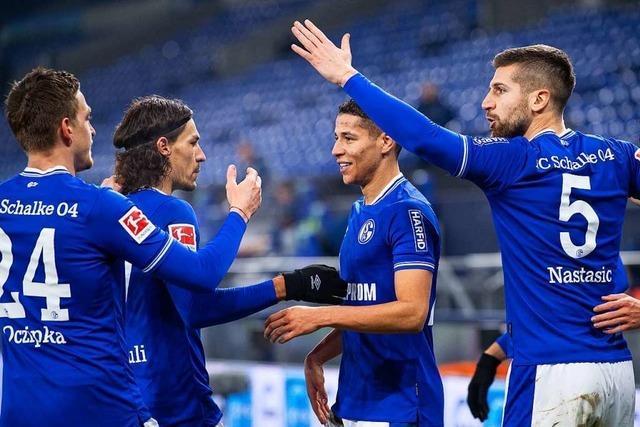 Negativ-Rekord abgewendet: Schalke gewinnt 4:0 gegen Hoffenheim