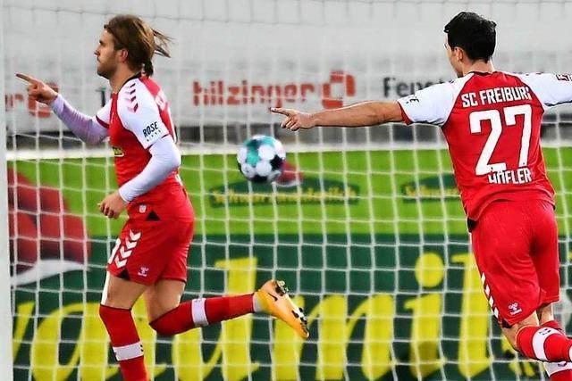 Fotos: SC Freiburg feiert 5:0-Spektakel gegen Köln