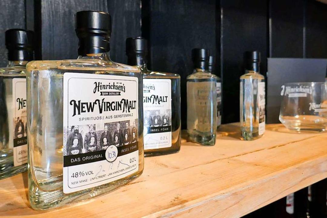 ...für klare Flaschen.  | Foto: Dörte Nohrden (dpa)