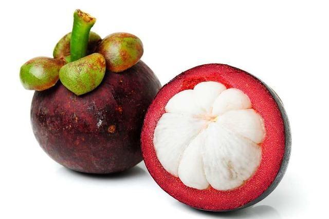 Die Mangostane ist eine Frucht mit viel Eiweiß