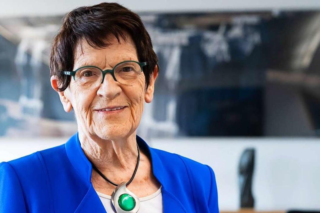 Rita Süssmuth, im Sommer 2020  | Foto: Bernd von Jutrczenka (dpa)
