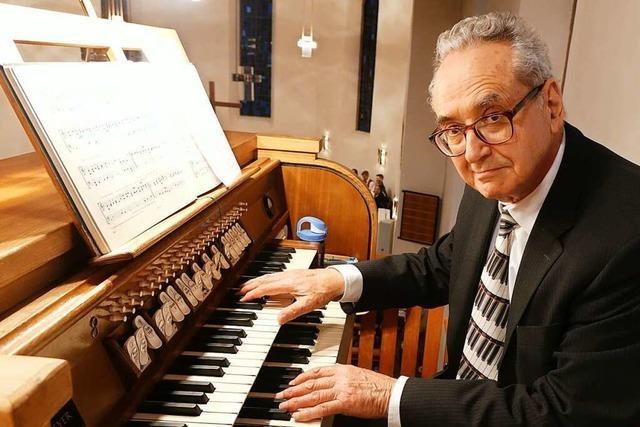 Douglas Bruce ist der Schotte an Schopfheimer Orgeln