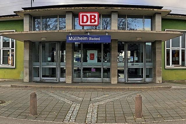 Müllheimer Bahnhof wird neu gestaltet – Bahn fällt Bäume
