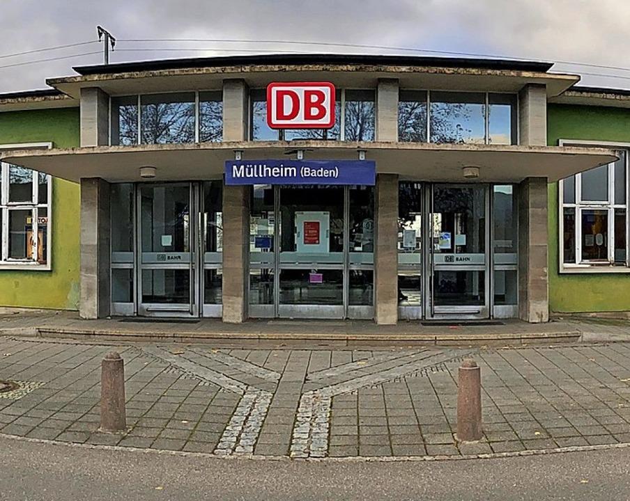 Der Müllheimer Bahnhof wird neu gestaltet.   | Foto: Alexander Huber