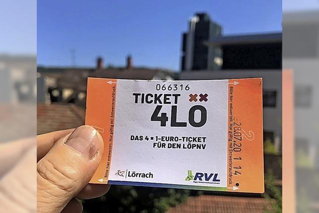 Ein-Euro-Ticket auf Prüfstand