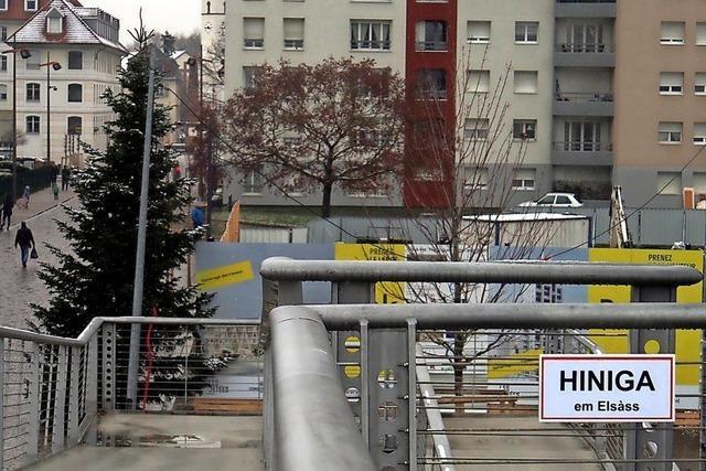Weils Partnerstadt Hüningen befindet sich nun wieder im Elsass