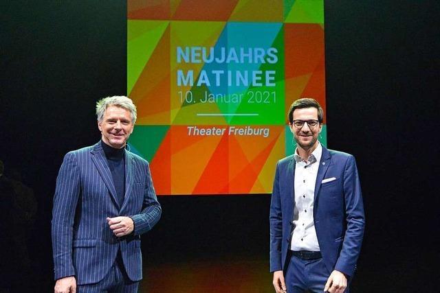 Freiburger Neujahrsmatinee mit Jörg Pilawa: Ein Blick voraus mit Zuversicht