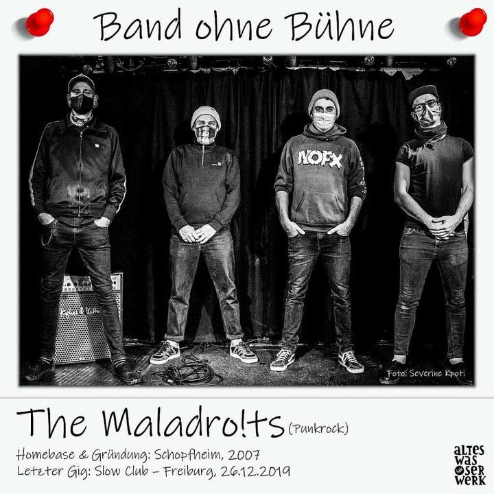 """So sieht ein Bandporträt der Reihe """"Band ohne Bühne"""" des SAK aus .    Foto: Barbara Ruda"""