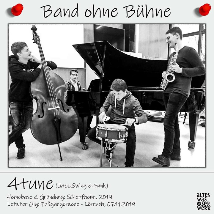 """So sieht ein Bandporträt der Reihe """"Band ohne Bühne"""" des SAK aus .    Foto: SAK"""