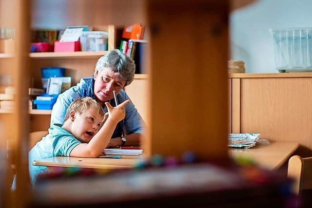 Debatte um Unterricht an sonderpädagogischen Zentren