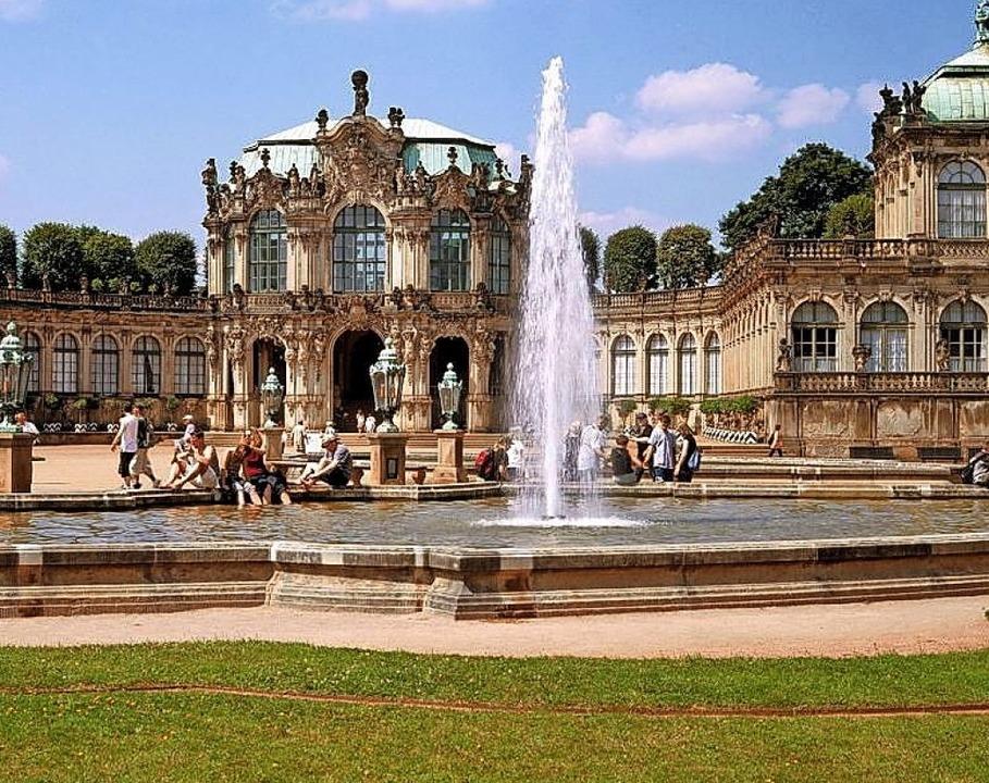 Dresden verwöhnt mit reicher Kultur – hier der Zwinger.  | Foto: Sylvio Dittrich