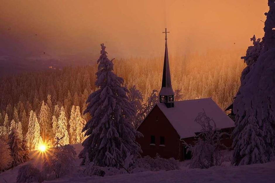 Romantische Schneelandschaft am Kandel (Foto: Thorolf Clemens)