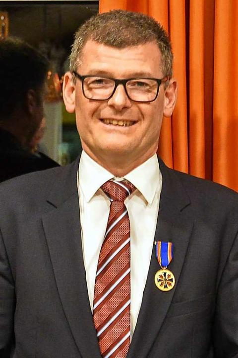 Michael Schlegel, Bürgermeister in Reute    Foto: Benedikt Sommer