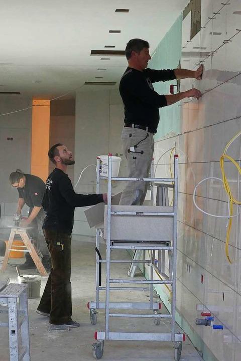 Auf der Baustelle in Sölden  | Foto: Jannik Jürgens