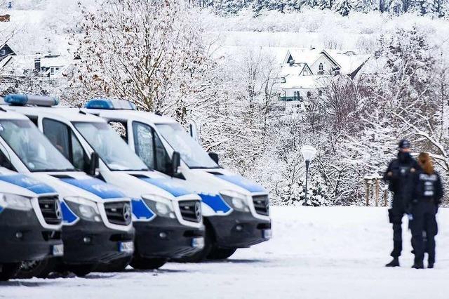 Polizei sperrt am Sonntag zeitweise die Zufahrt zum Blauen
