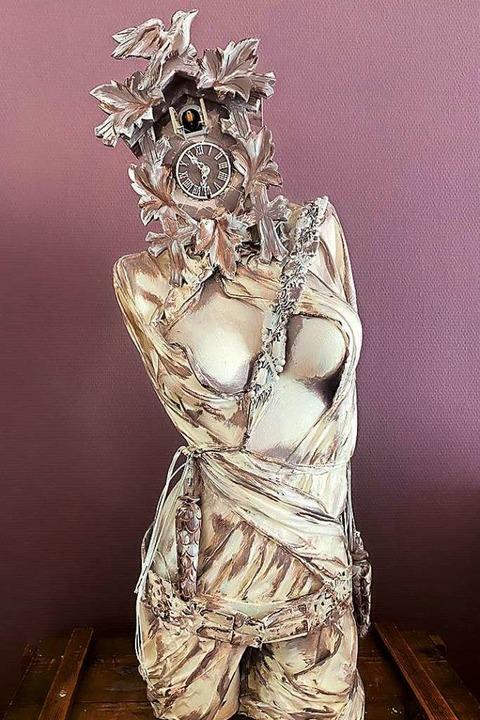 Eine Arbeit von Claudia Chevalier  | Foto: L'Art pour Lahr