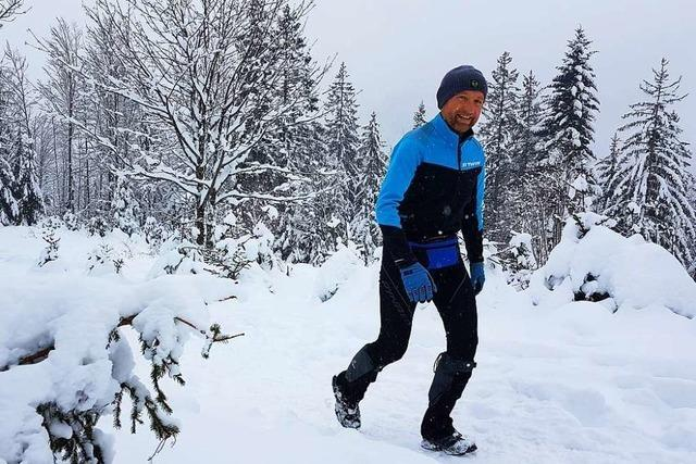 55-Jähriger läuft auf den Belchen – 371-mal in einem Jahr