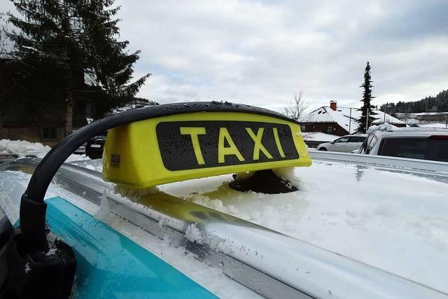 Das Taxi-Geschäft im Hochschwarzwald liegt fast brach