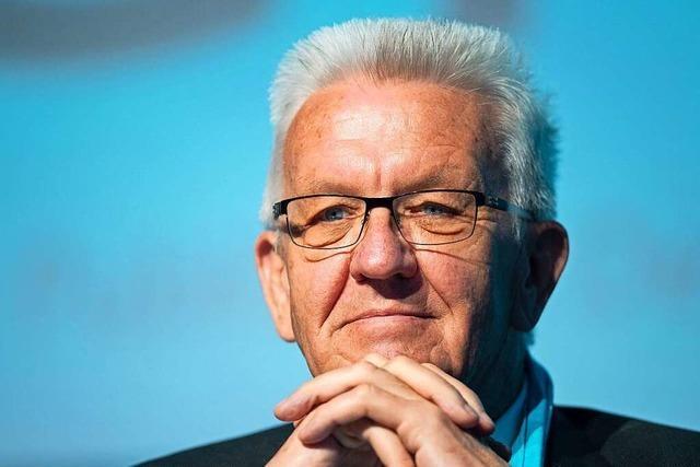Baden-Württemberg wählt: Winfried Kretschmann von den Grünen im BZ-Talk