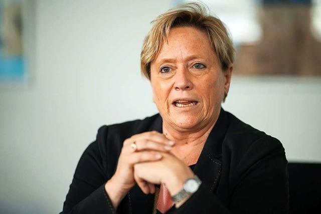 Baden-Württemberg wählt: Susanne Eisenmann von der CDU im BZ-Talk