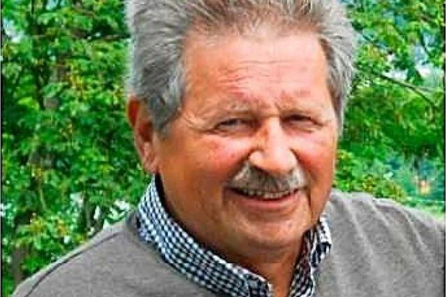 Trauer um engagierten Menschenfreund: Günther Holl aus Grenzach-Wyhlen ist gestorben