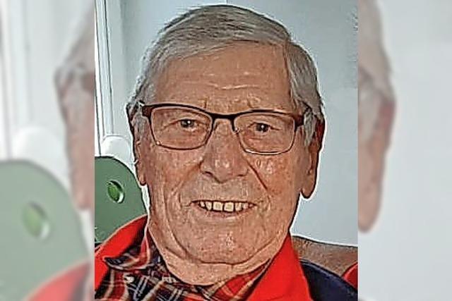 Der Hämmifritze Walter wird heute 90 Jahre alt