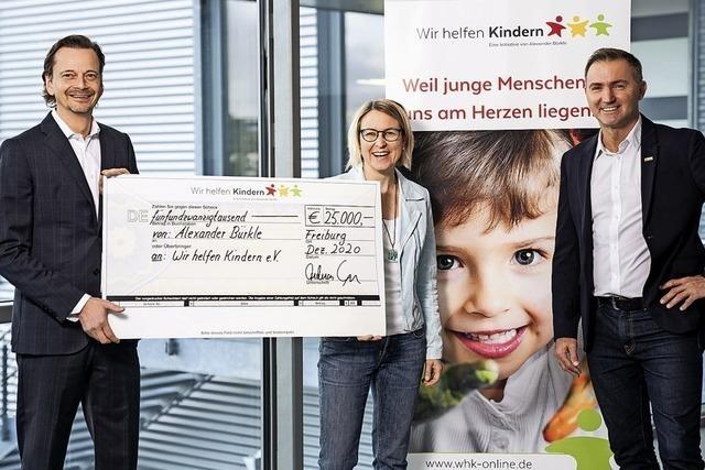 25 000 Euro für Kinder