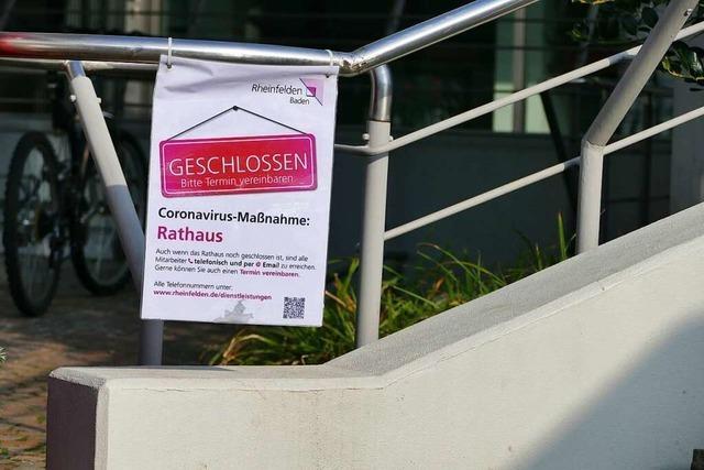 Wie sich der verlängerte Lockdown auf Rheinfelden auswirkt