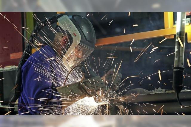 Auftragsplus im Maschinenbau