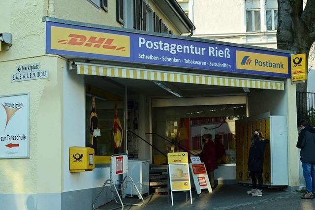 Die Postfiliale in Kandern schließt, die Nachfolge bleibt unklar