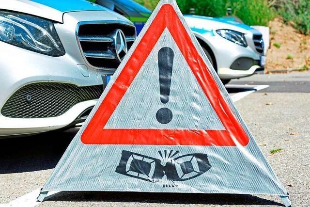 LKW-Fahrer stirbt bei Unfall an der B 518 in Schopfheim