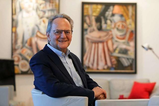 Ein Mann und eine Stadt steigen auf: Alt-Oberbürgermeister Wolfgang Bruder wird 70