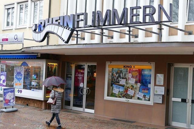 Rheinfelder Kino Rheinflimmern ist auf eine Öffnung vorbereitet