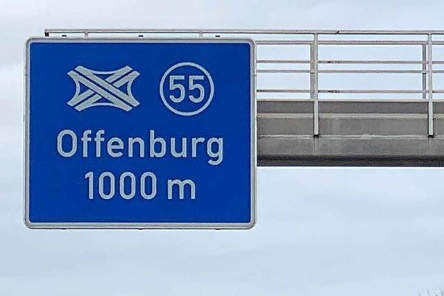 Schwerer Unfall auf der A5 bei Offenburg sorgt für Stau im Berufsverkehr