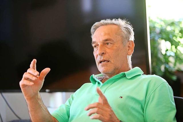 Klaus Jehle tritt im Oktober als Bürgermeister von Hohberg ab