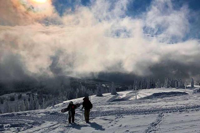 Fotos: Das verlassene Skigebiet am Feldberg