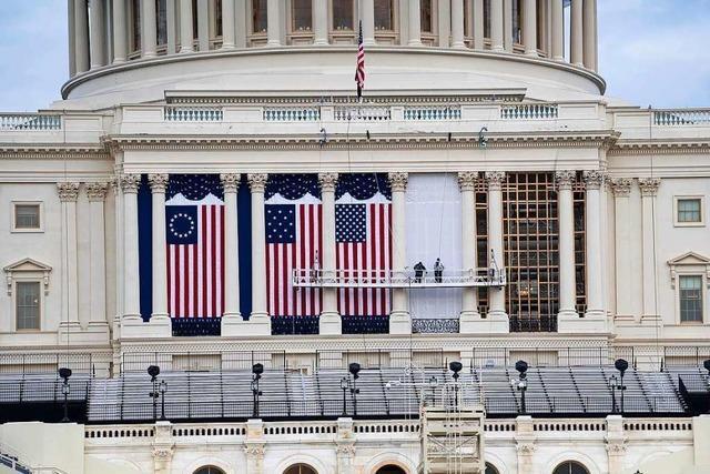 Sicherheit für Biden-Vereidigung in Washington wird erhöht