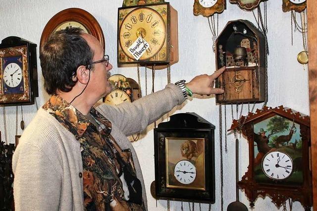 In Eisenbach gibt's eine Sammlung historischer Uhren von Johann Baptist Beha