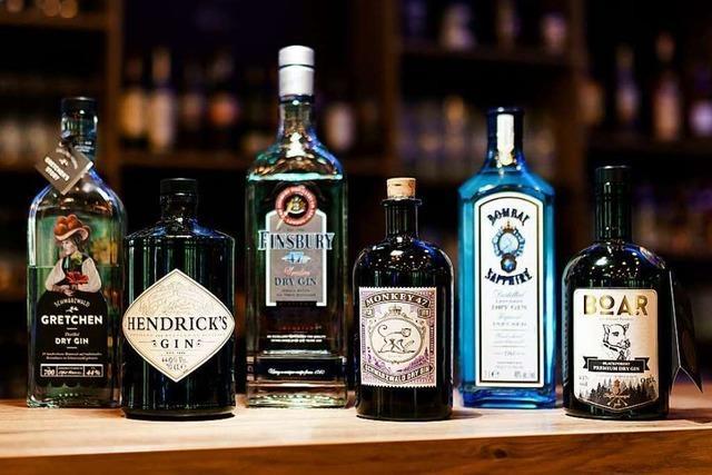 Freuen Sie sich auf eine Gin-Verkostung!