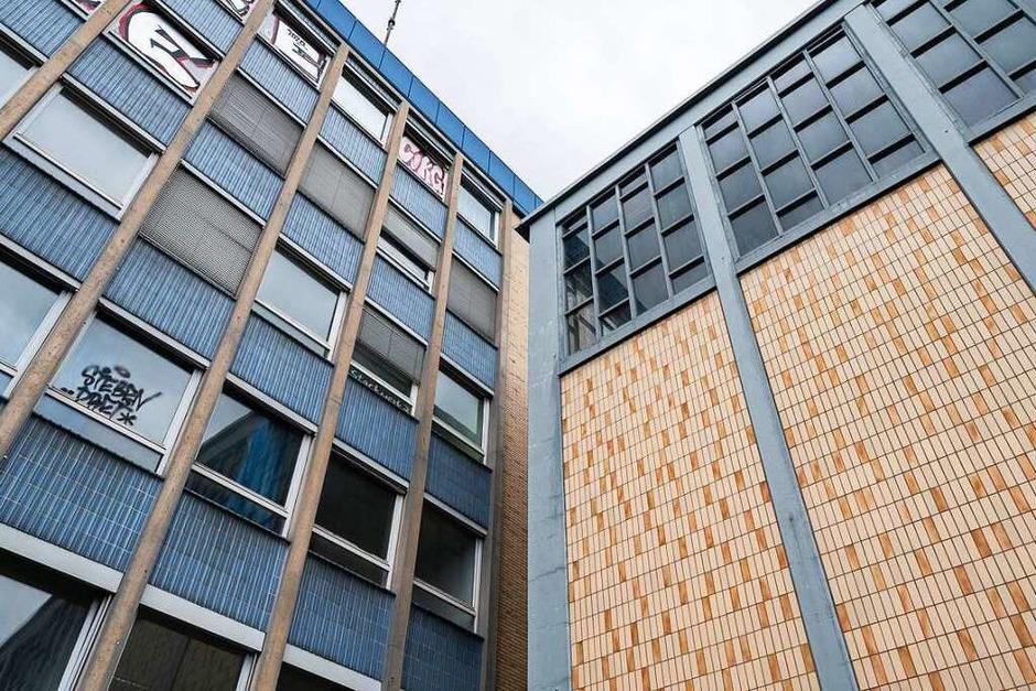 Die Gebäude auf dem Nestler-Areal vor dem Abriss (Foto: Wolfram Köhli)